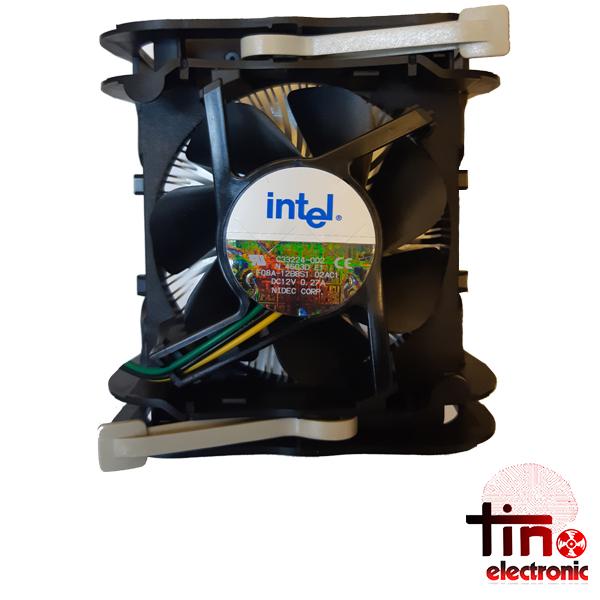 فن CPU اینتل 12 ولت 280 میلی آمپر