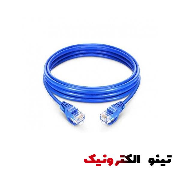 کابل شبکه 1 متری cat6 کابل شبکه 1 متری Giga Flex cat6 پچ کورد CAT6 گیگا فلکس Giga Flex CAT6 UTP